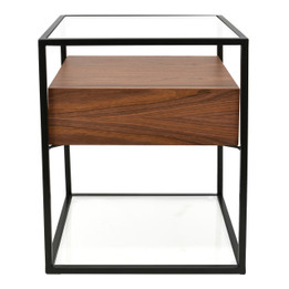 CST311WAL-IG Scandinavian Side Table - Walnut (cf)