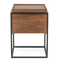 CST312WAL-IG Scandinavian Side Table - Walnut (cf)