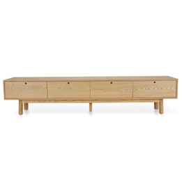 Irene Scandinavian 2.2m TV Entertainment Unit - Natural (cf)