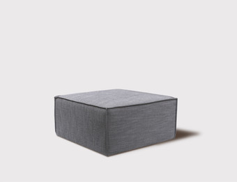 Appartmento Footstool - Premium Version 100% Natural Linen - Any Colour