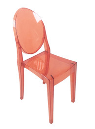 Replica Victoria Ghost Chair - Transparent Red