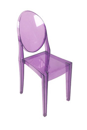 Replica Victoria Ghost Chair - Transparent Purple