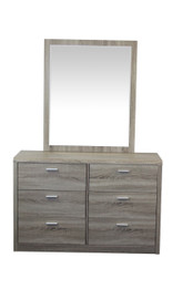 TimberGrain Dressing Table and Mirror (bf)