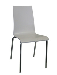 Cafe/Restaurant Chair -Chicago Chair -White (bf)