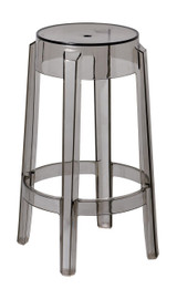 Replica Charles Ghost Stool - Transparent Grey/Smoke