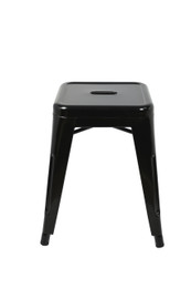 Toledo Stool -45cm High -Black (bf)