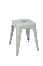 Toledo Stool -45cm High -White (bf)