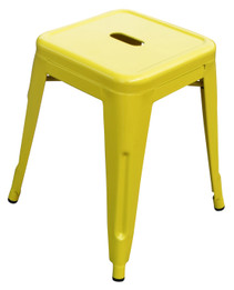 Toledo Stool -45cm High -Yellow (bf)