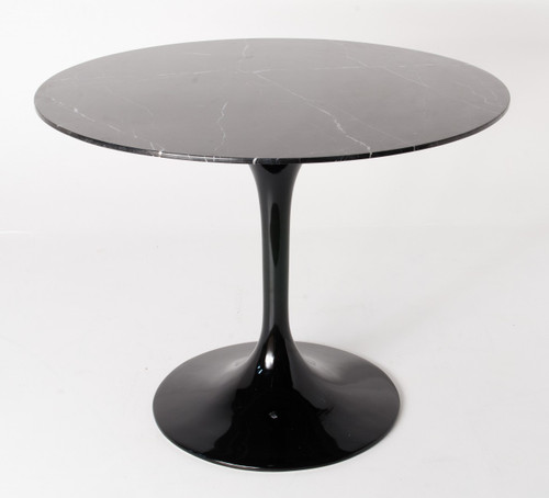 Ex Display - Replica Tulip Table - Black Marble - 150cm