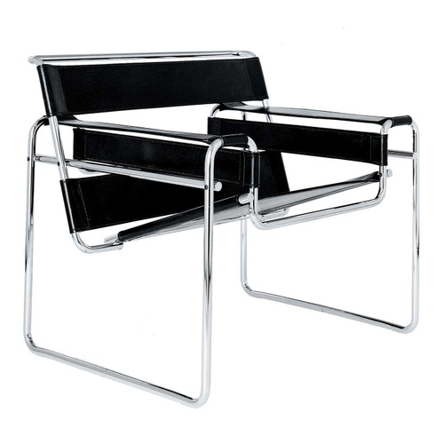 Replica Wassily Lounge Chair by Marcel Breuer