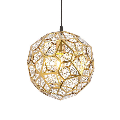 Replica Tom Dixon Web Pendant - Gold
