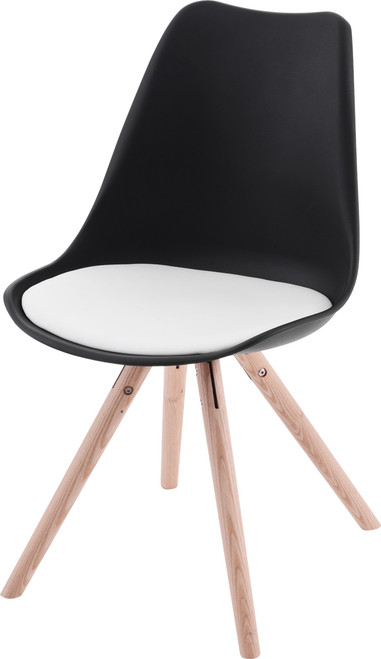 Retro Eames Replica Dining Chairs  - Round Legs
