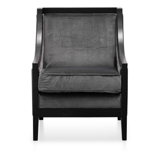 Armchair - Cosmic Grey Velvet (cf)
