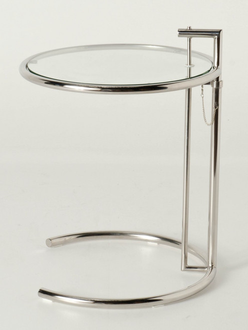 Premium Replica E1027 Eileen Gray Side table-Stainless Steel or Polished Steel