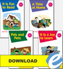 Christian Liberty Kindergarten Phonics Readers - Complete Set - PDF Download