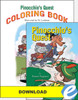 Pinocchio's Quest - Novel and Coloring Book Set - PDF Download