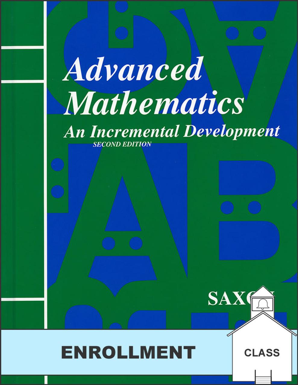Saxon Advanced Mathematics, 2nd edition