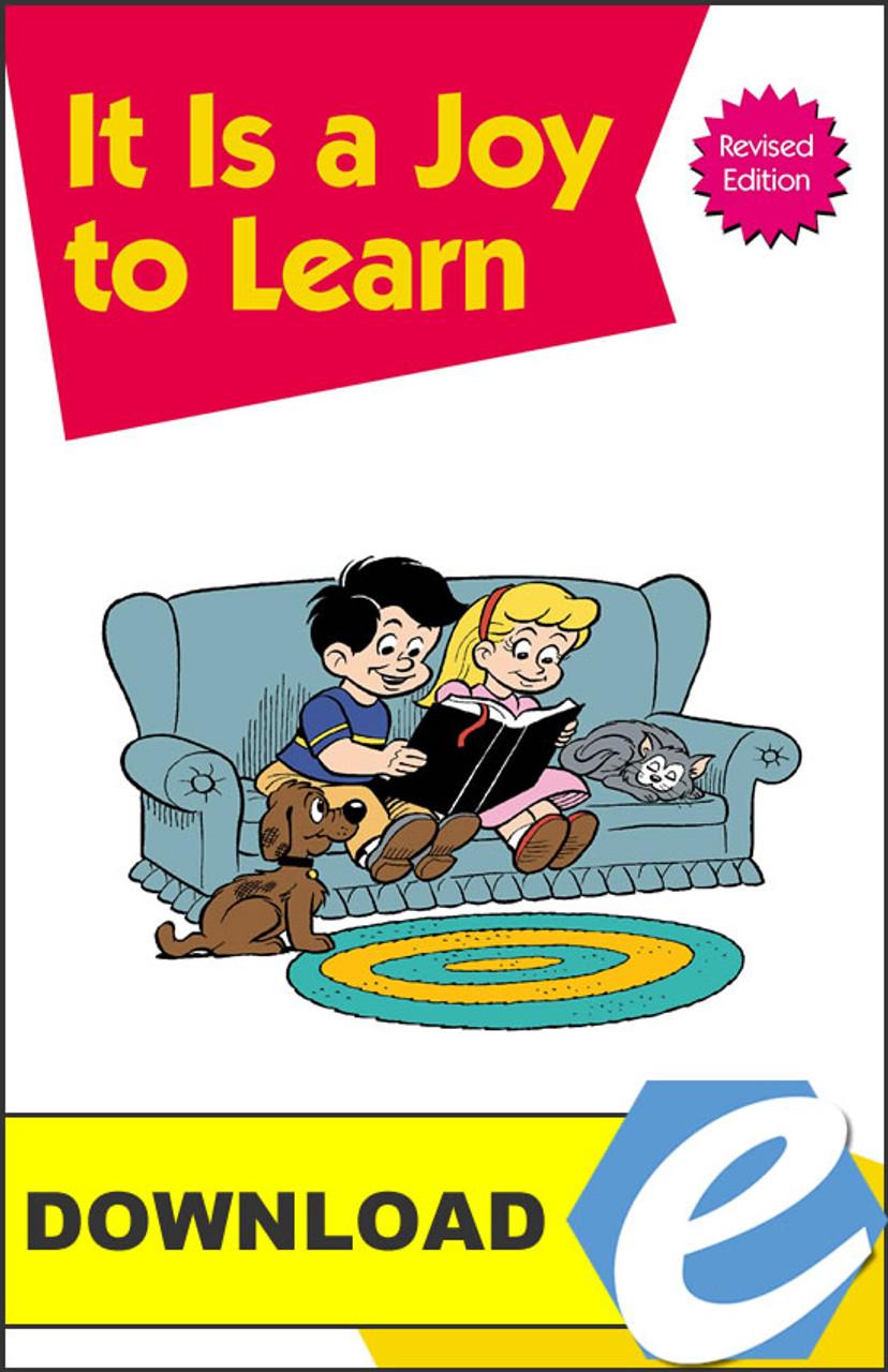 It Is a Joy to Learn - PDF Download
