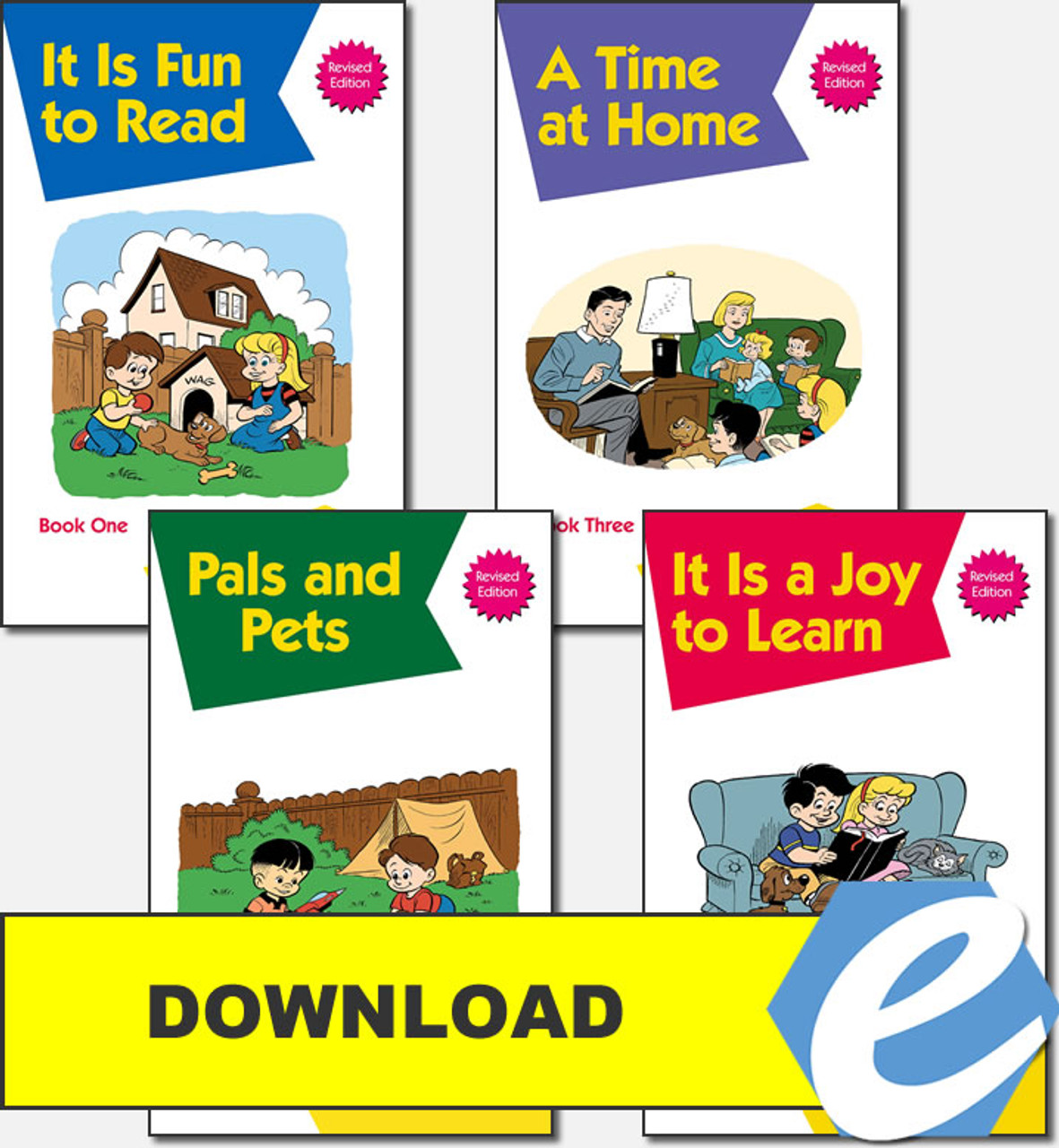 Christian Liberty Kindergarten Phonics Readers - Complete Set - PDF Download