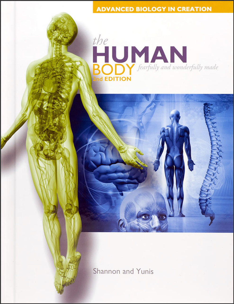 Alternate Cover - The Human Body: Fearfully and Wonderfully Made, 2nd edition