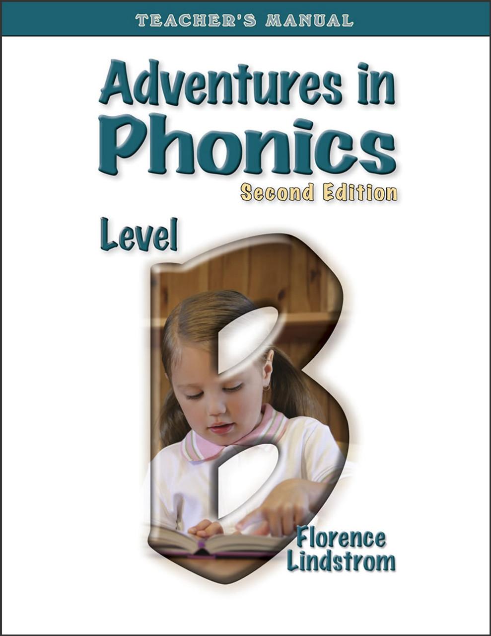 Adventures in Phonics: Level B, 2nd edition - Teacher's Manual