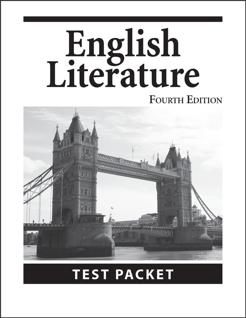 English Literature, 4th edition - Test Packet
