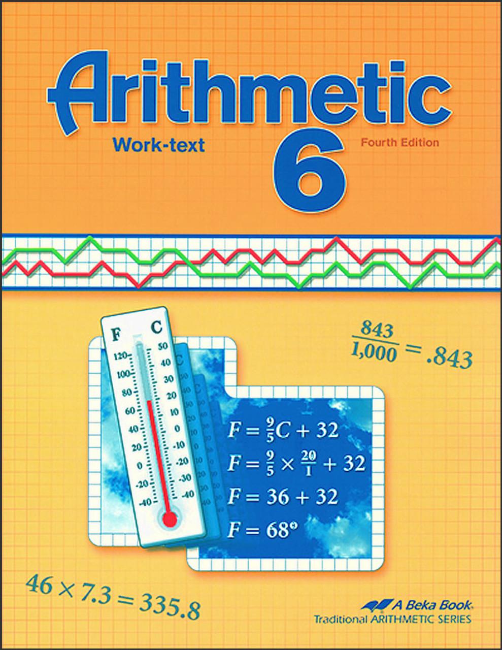 Arithmetic 6, 4th edition