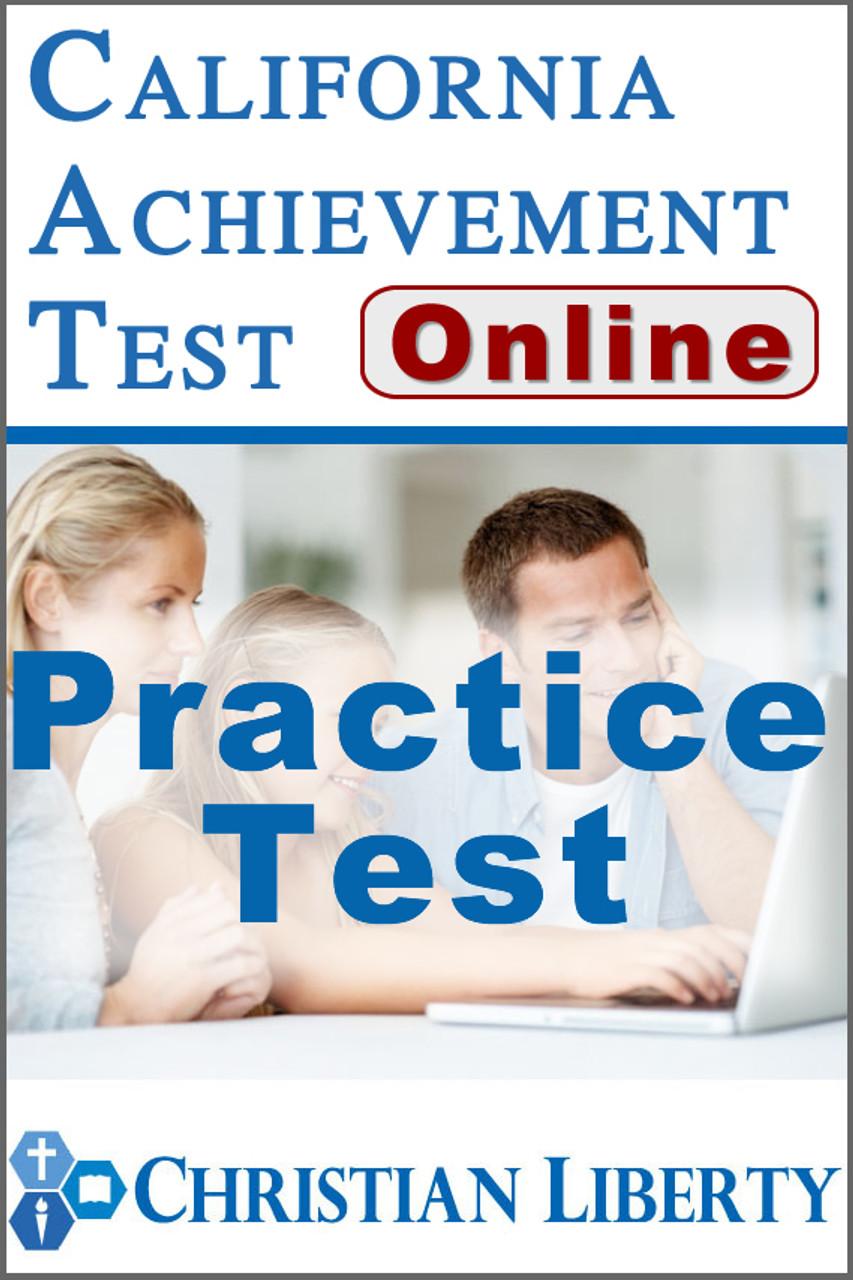 California Achievement Test - Online Practice Test