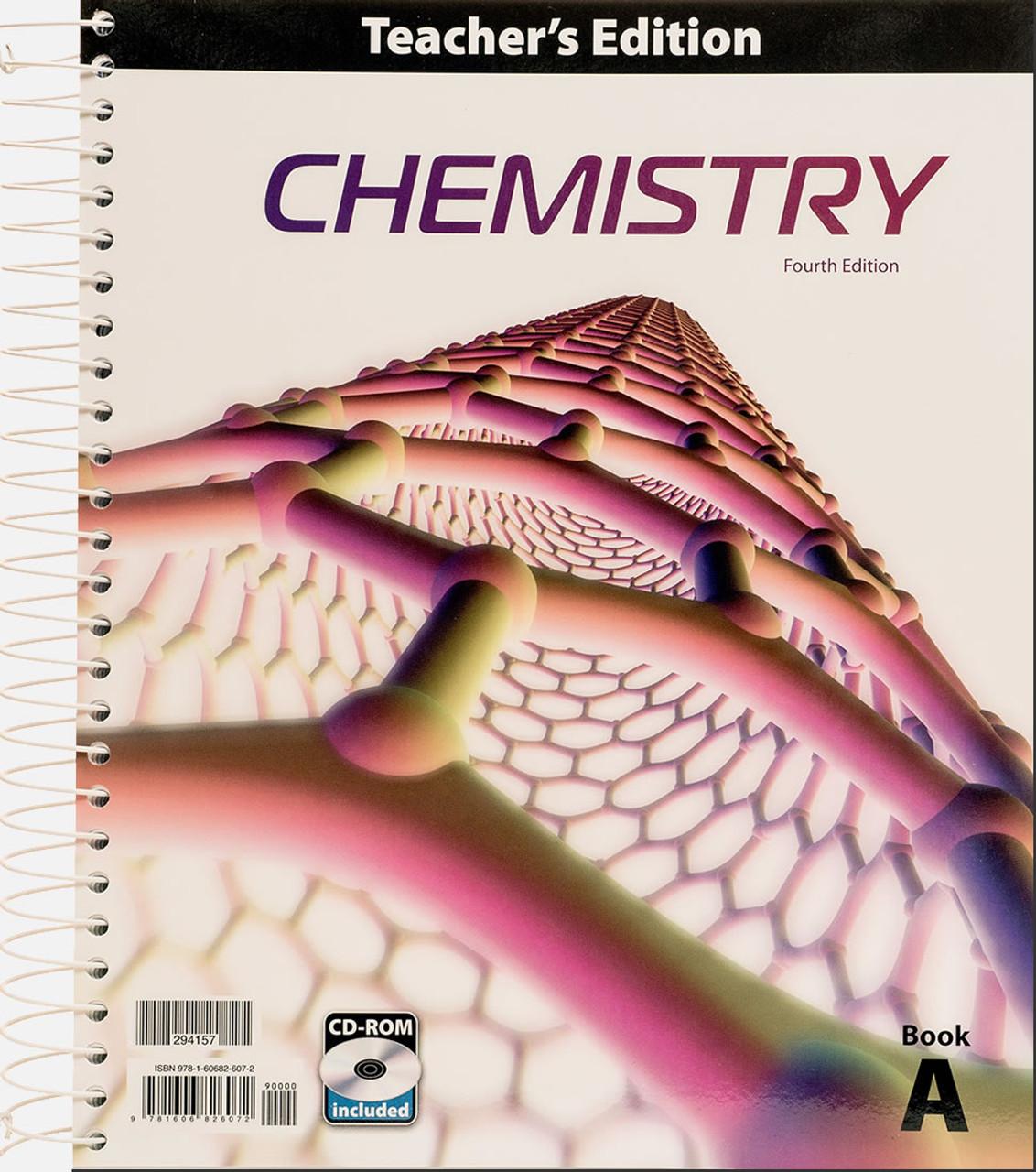 Chemistry, 4th edition - Teacher's Edition (Volume A)