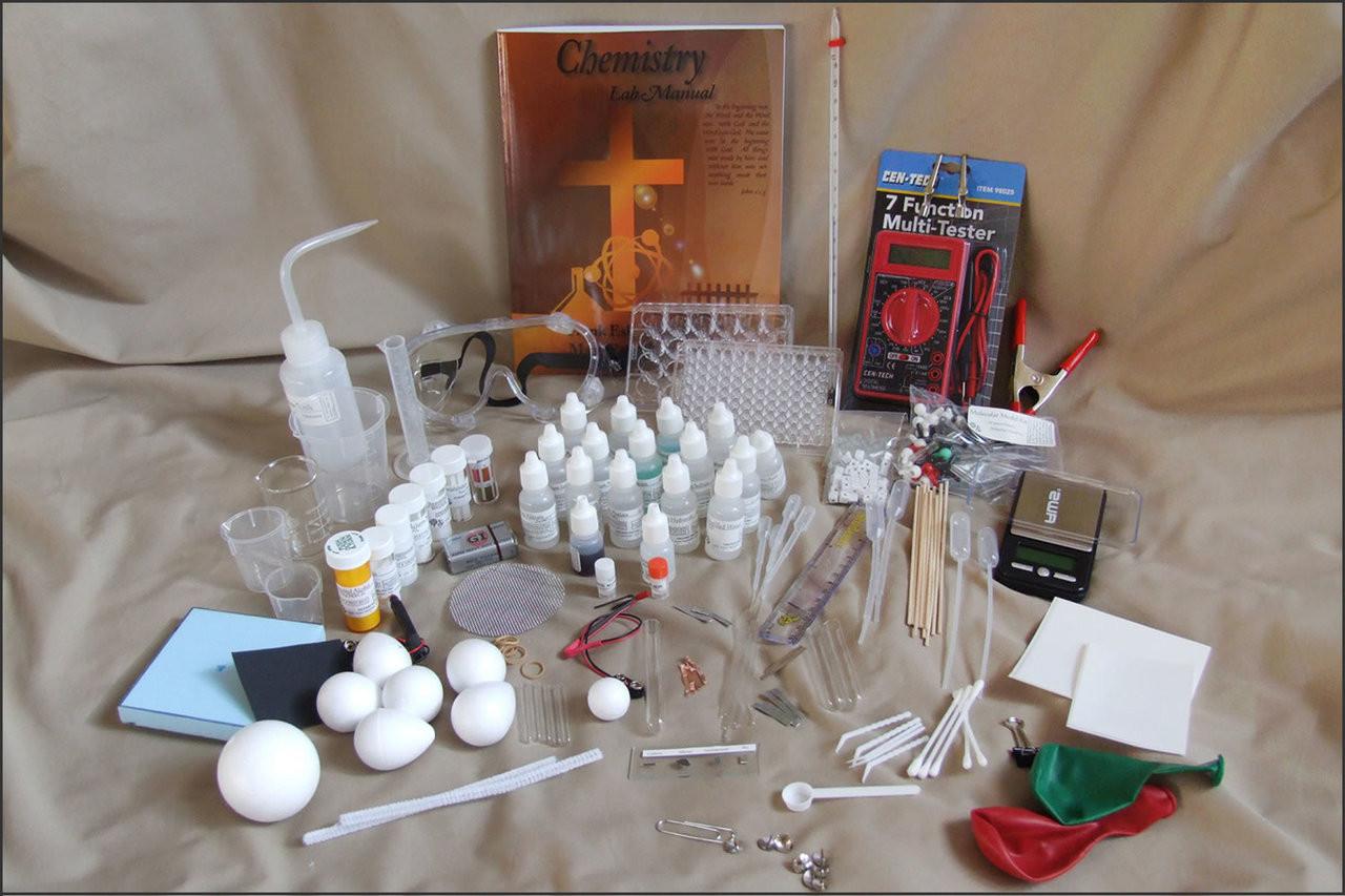 Chemistry Lab Kit Contents