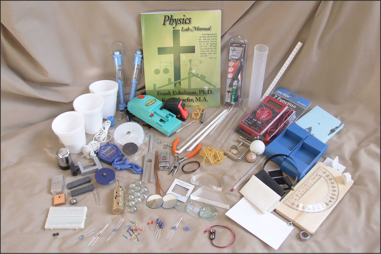 Physics Lab Kit Contents