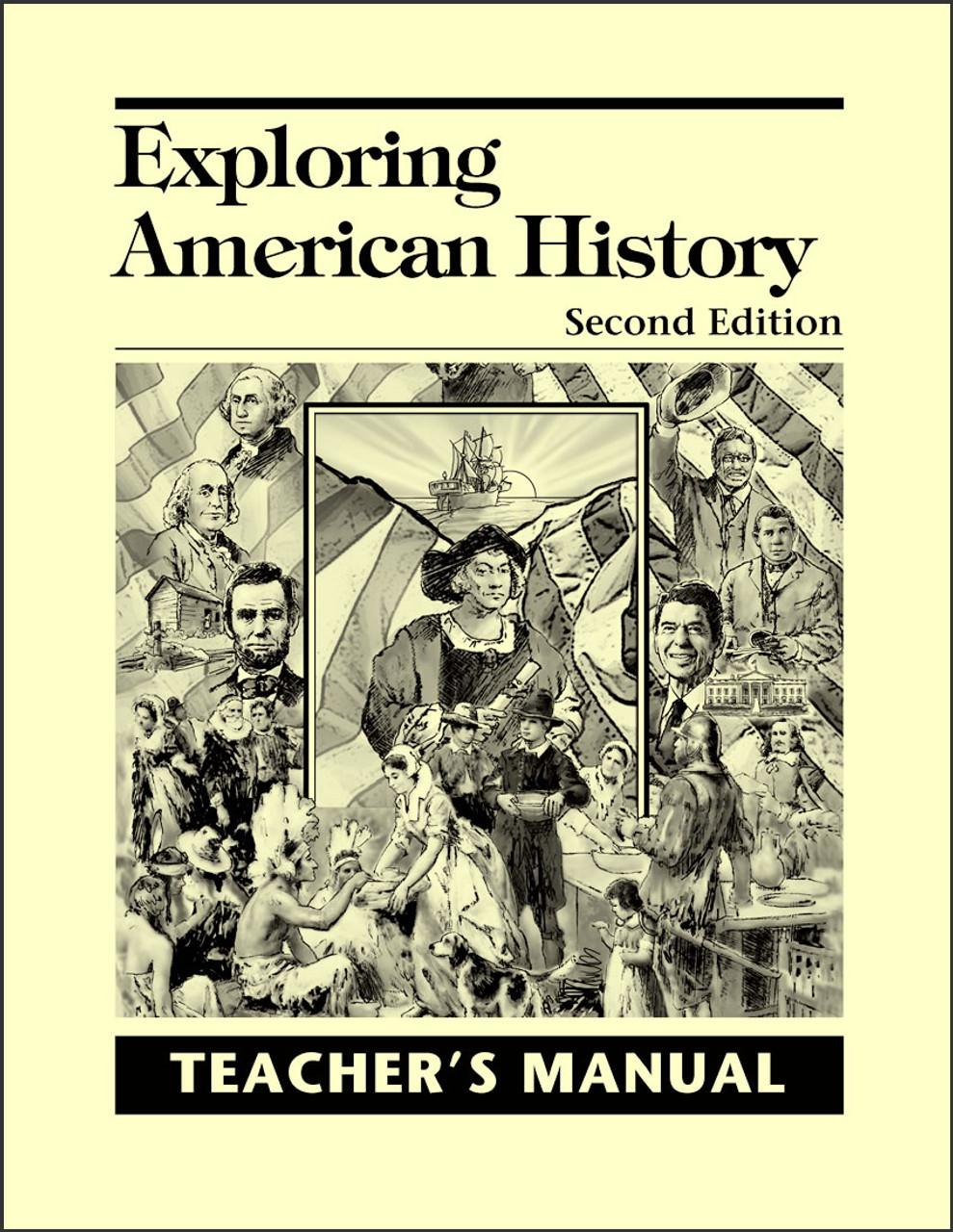 Exploring American History, 2nd edition - Teacher's Manual