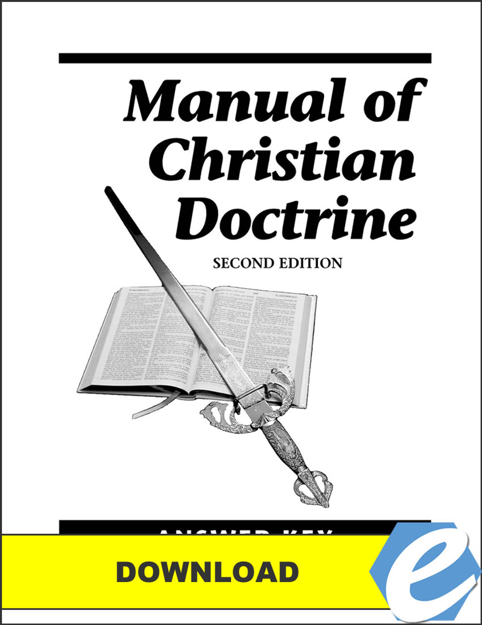 Manual of Christian Doctrine, 2nd edition - Answer Key - PDF Download