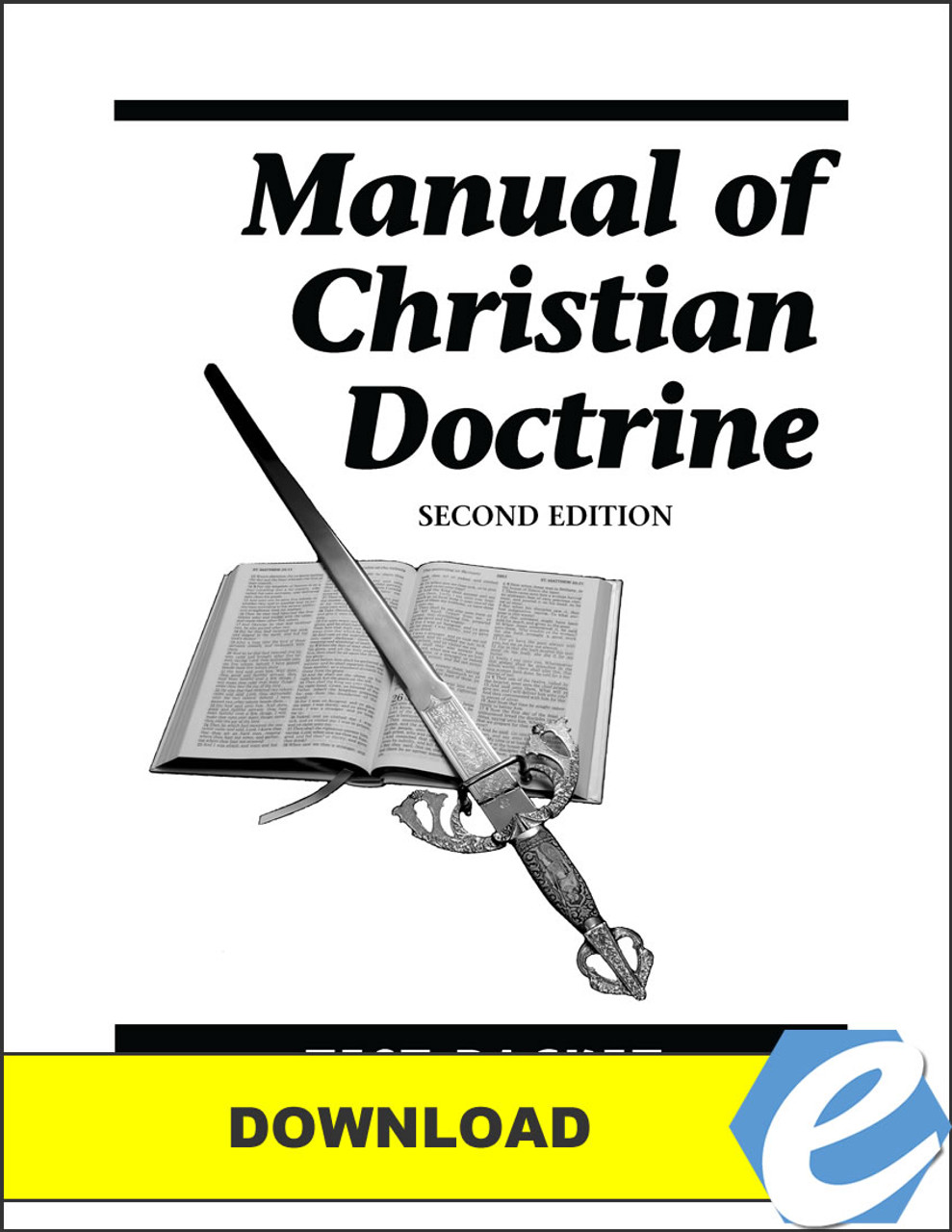 Manual of Christian Doctrine, 2nd edition - Test Packet - PDF Download