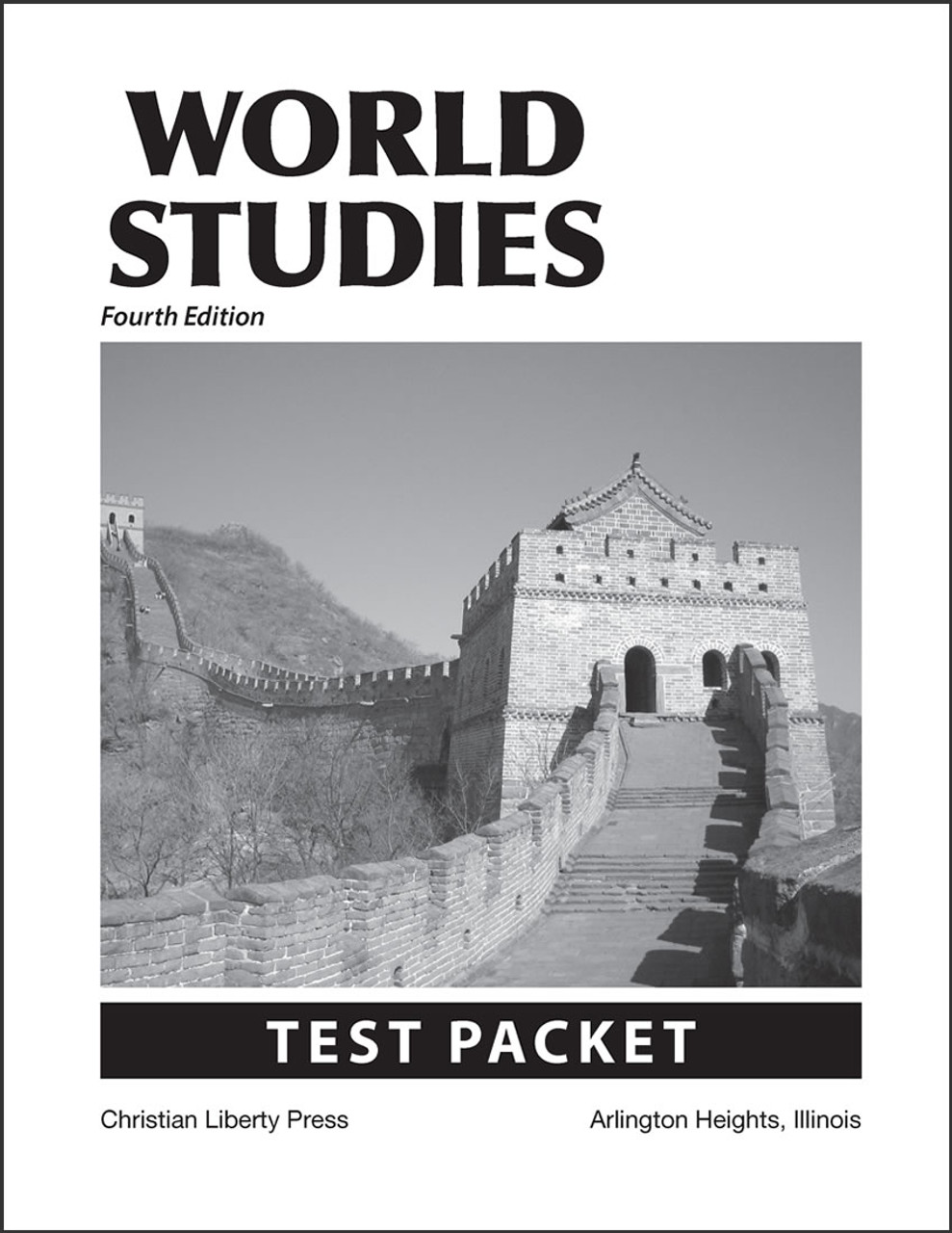 World Studies, 4th edition - Test Packet