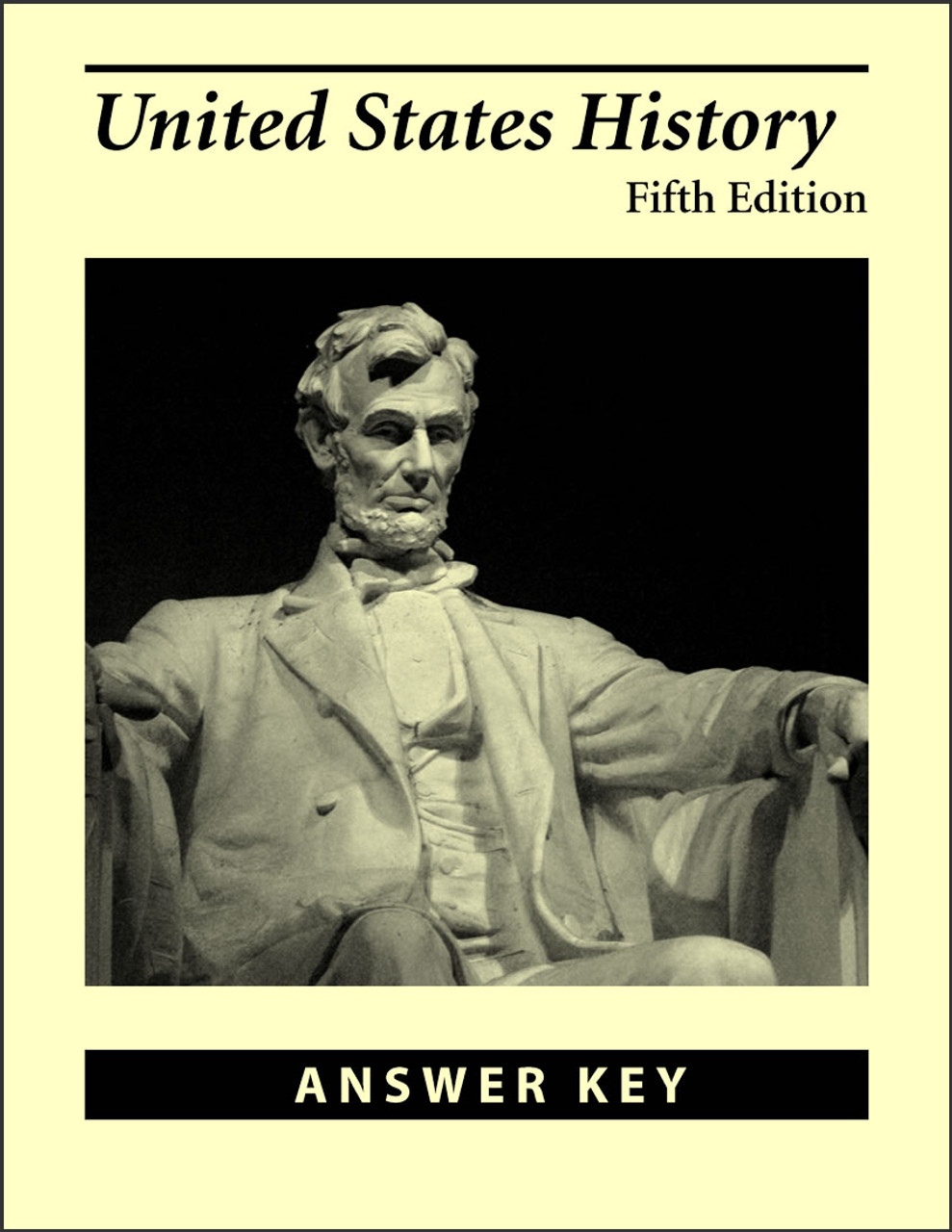 United States History, 5th edition - Answer Key
