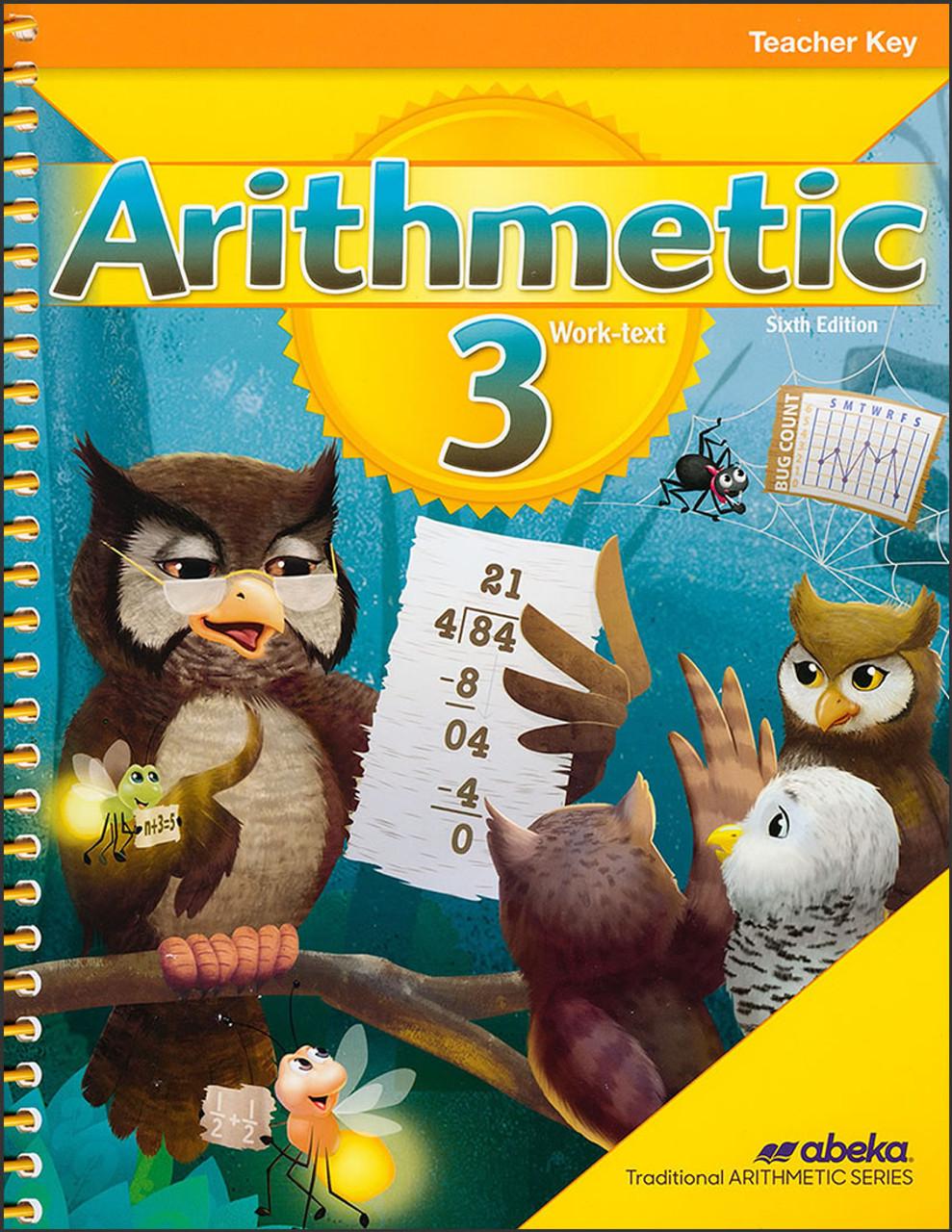 Arithmetic 3, 6th edition - Teacher Key