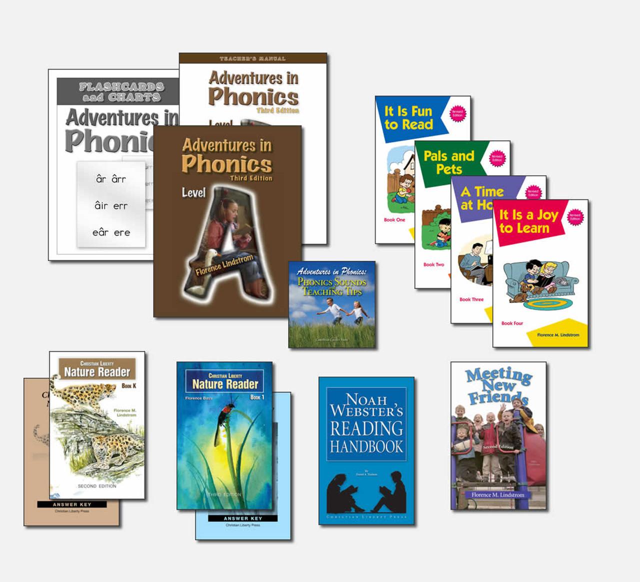 Adventures in Phonics Reading Program