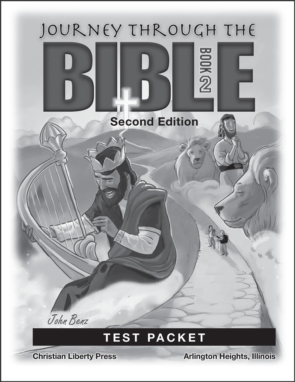 Journey Through the Bible: Book 2 - Wisdom and Prophetic Books, 2nd edition - Test Packet