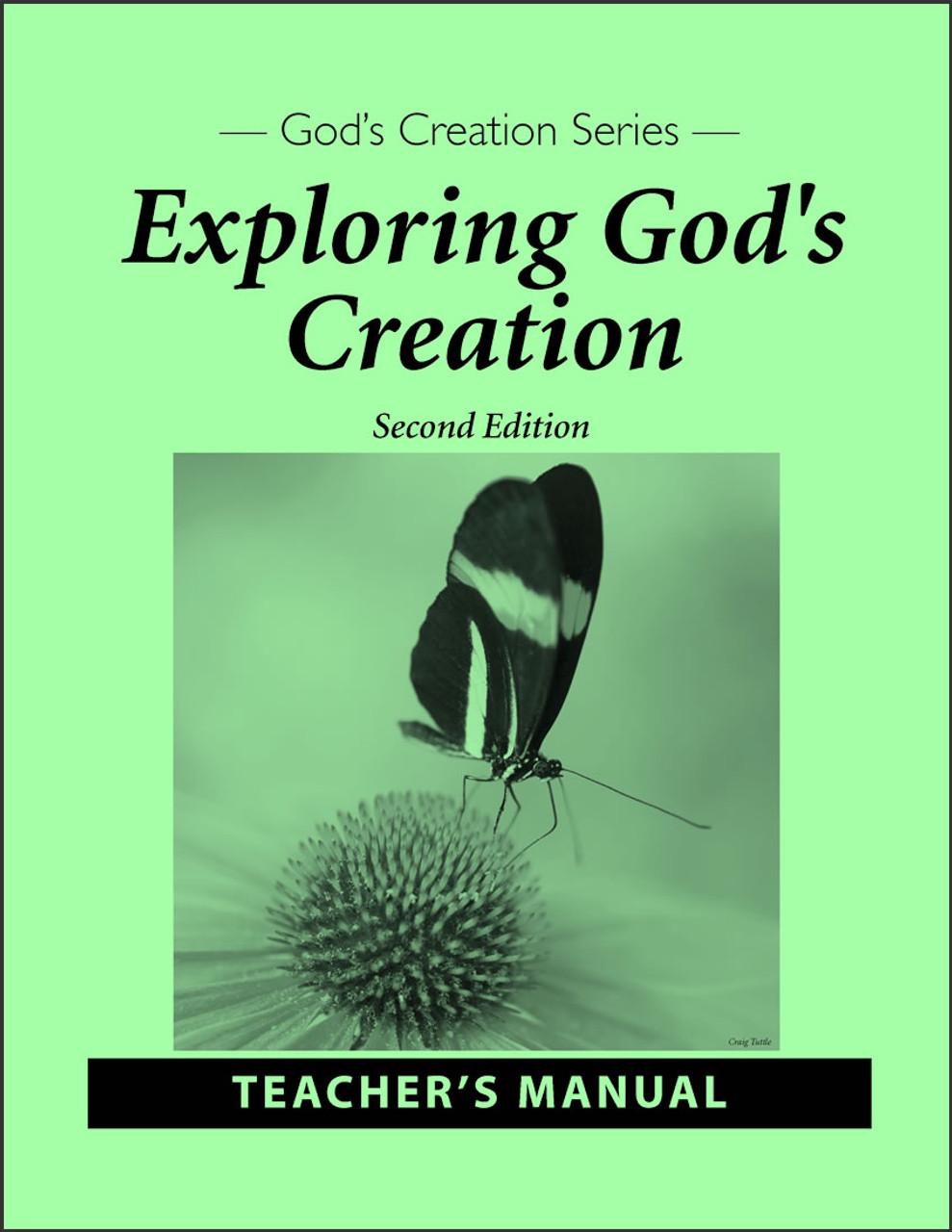 Exploring God's Creation, 2nd edition - Teacher's Manual