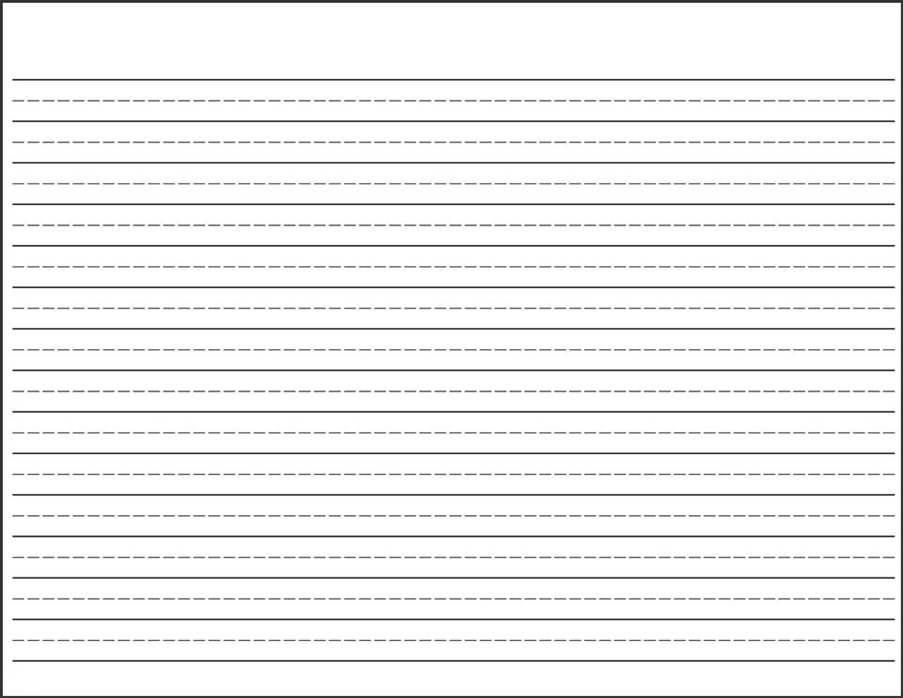 Handwriting Practice Pad - Grades 2 to 4