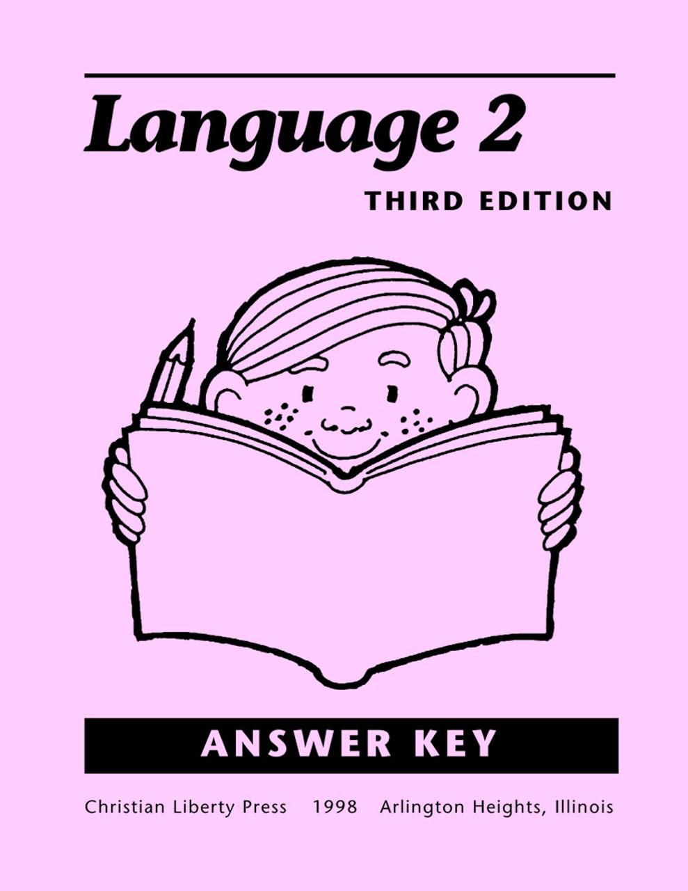 Language 2, 3rd edition - Answer Key