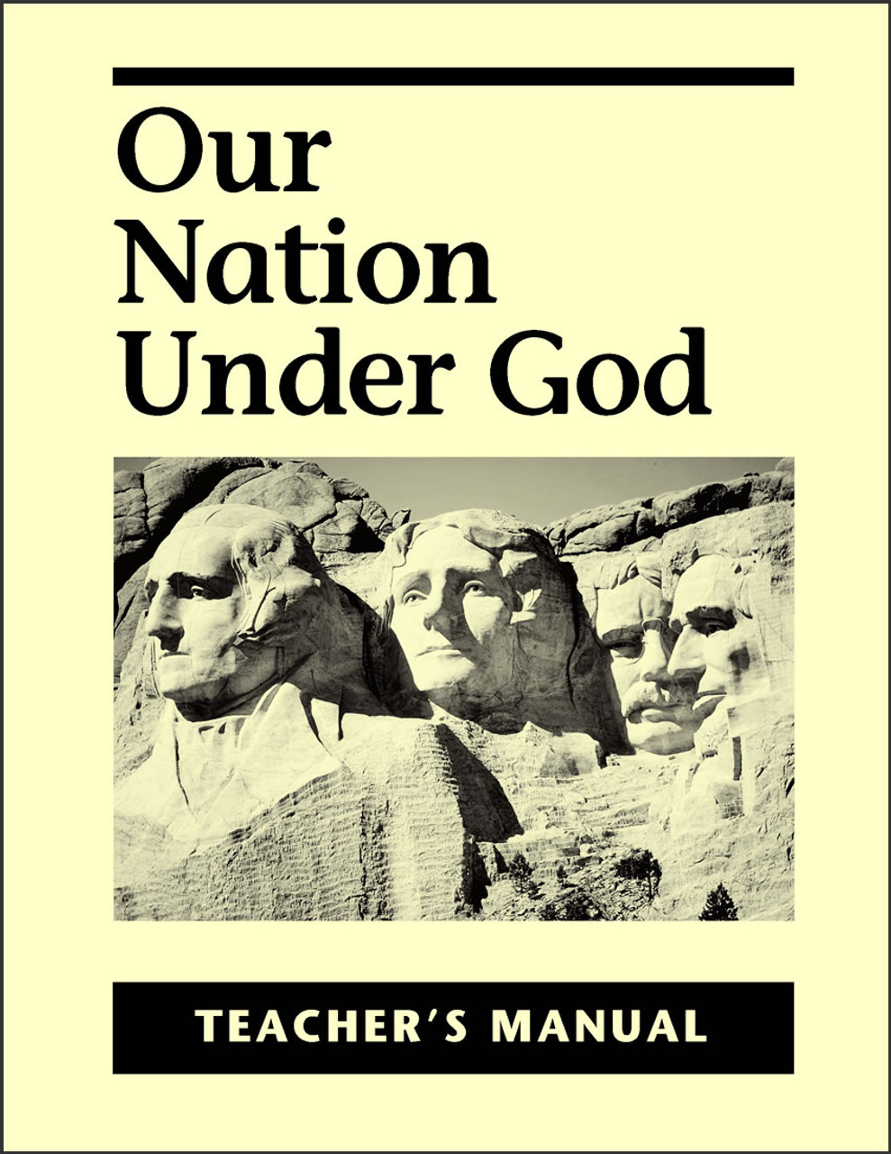 Our Nation Under God - Teacher's Manual