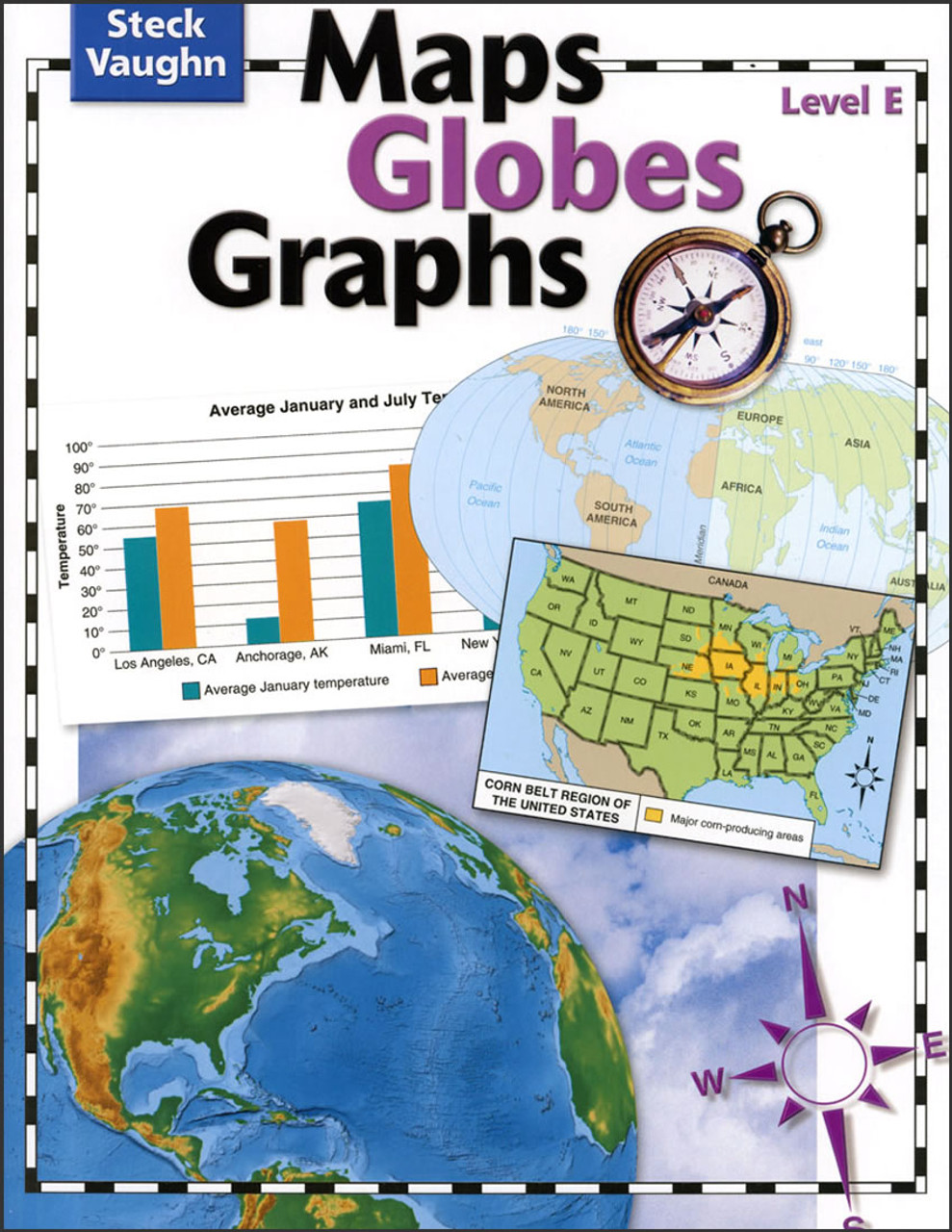 Maps Globes Graphs Level E