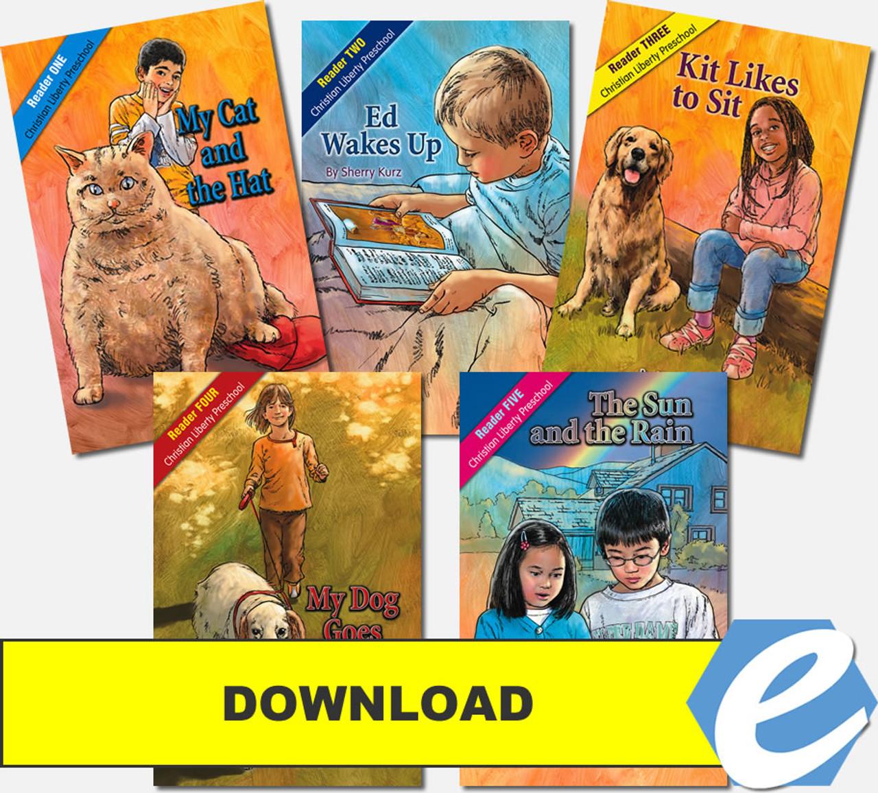 Christian Liberty Preschool Readers - PDF Download
