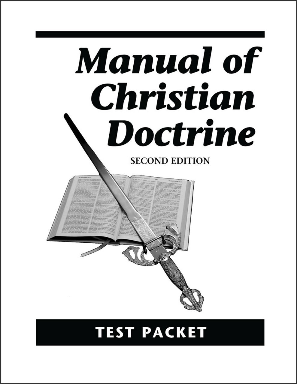 Manual of Christian Doctrine, 2nd edition - Test Packet