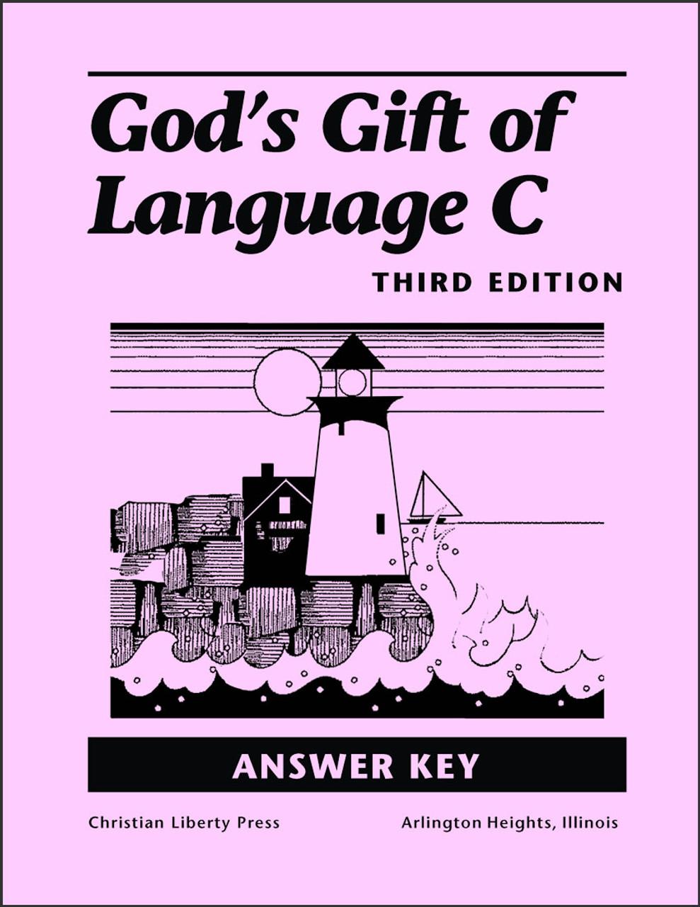 God's Gift of Language C, 3rd edition - Answer Key