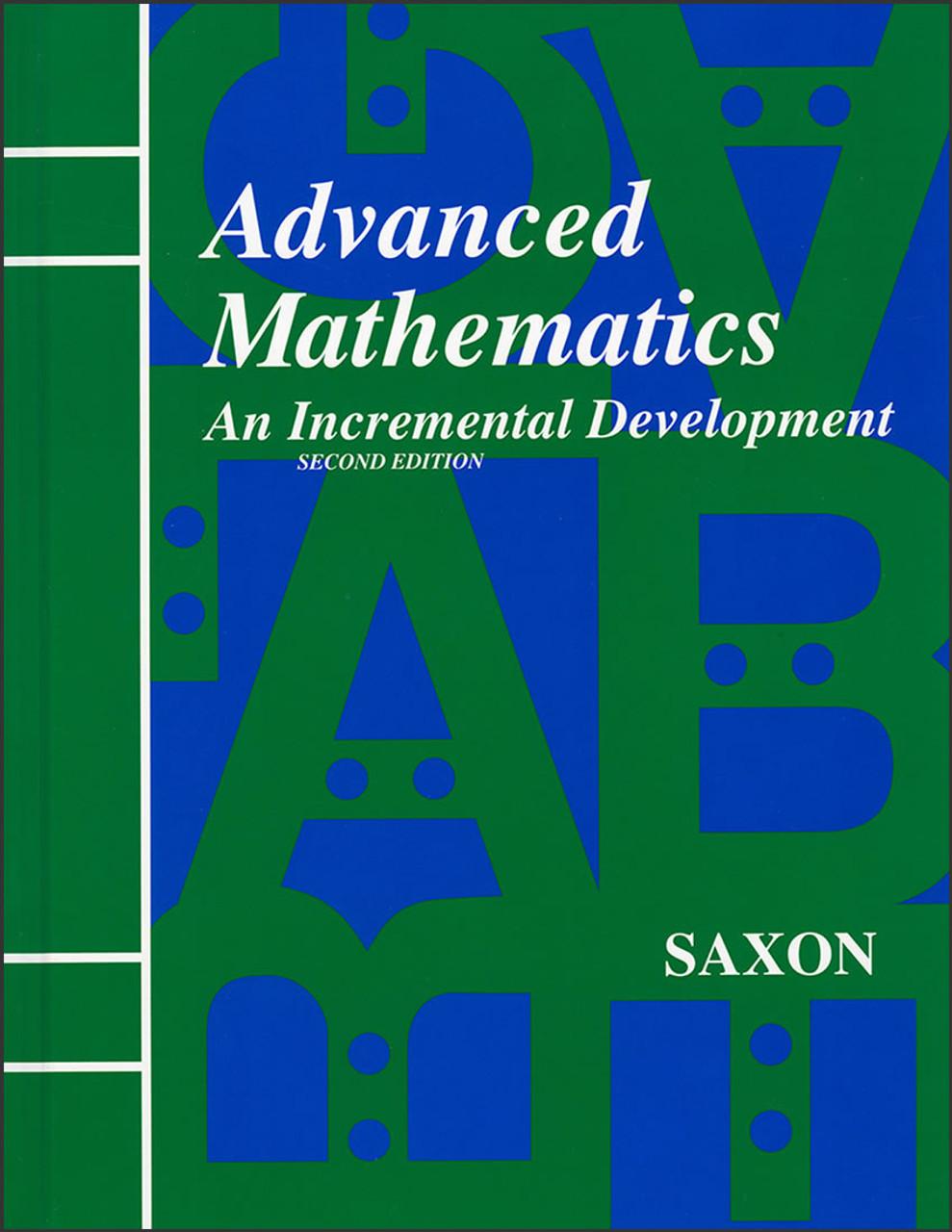 Saxon Advanced Mathematics - Home Study Kit