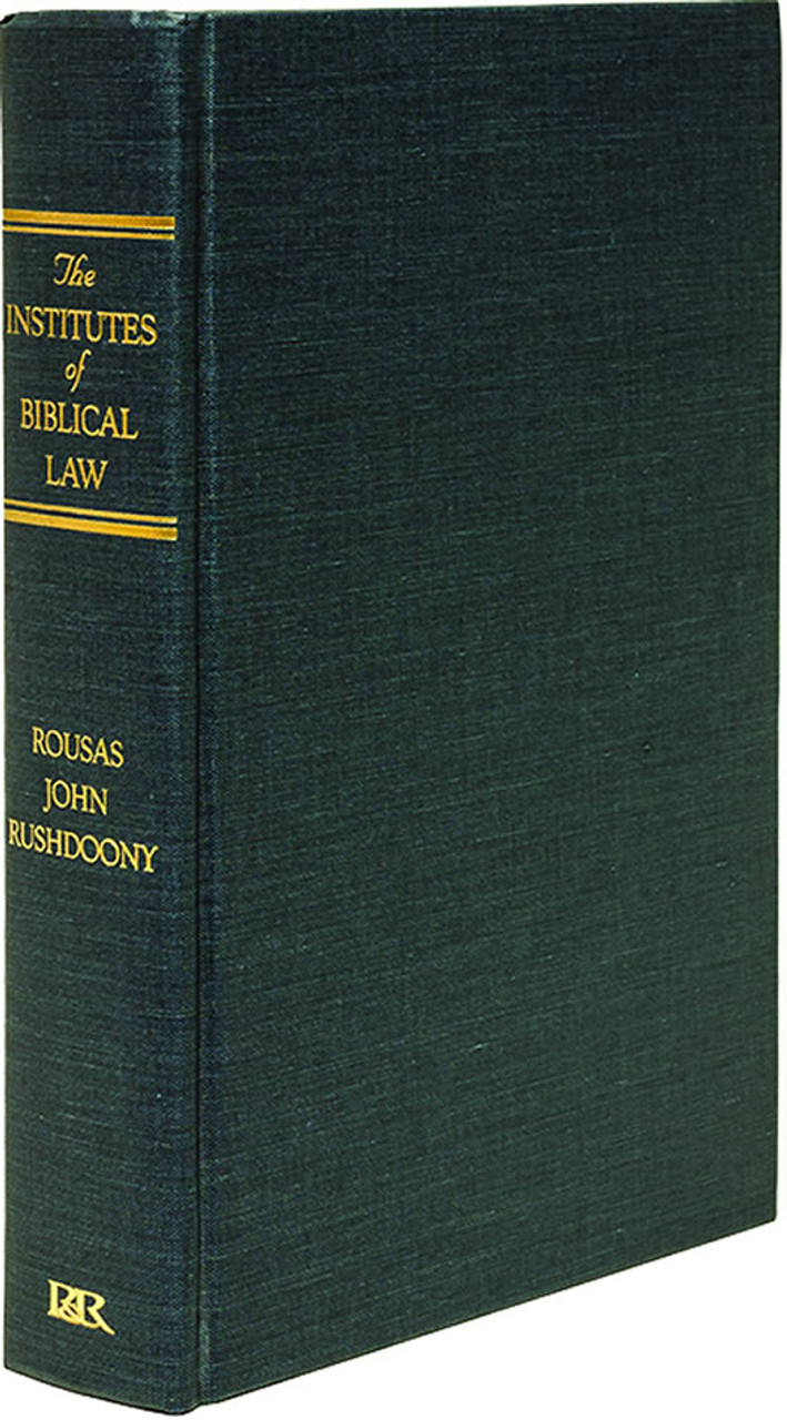 Institutes of Biblical Law
