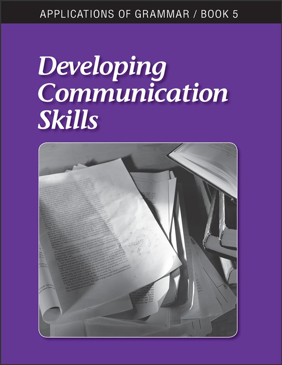 Applications of Grammar Book 5